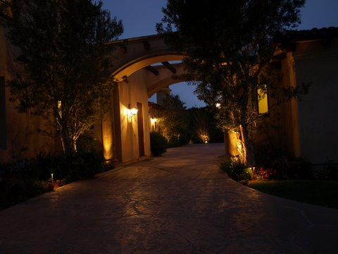 Exterior Lighting Calabasas Modern Outdoor  Lighting