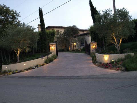 Exterior Lighting Calabasas